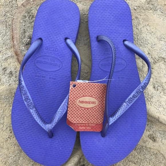 0a38ddb8cab50e Violet Purple HAVIANA NWT Flip Fop Sandals